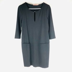 Juicy Couture Black Shift Dress M